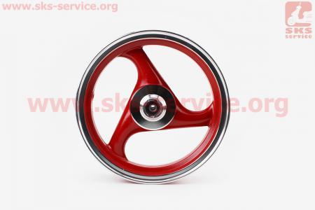 D16 Диск литой передний MT2,5x12 (ось 12мм)  (цвета: синий, красный)