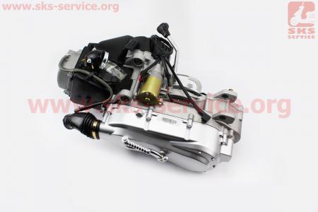 Двигатель для квадроцикла (вариаторный) с редуктором задней передачи в сборе 150куб