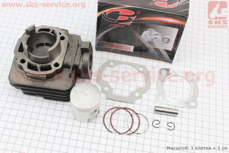 Цилиндр к-кт (цпг) Suzuki AD50сс-41мм (палец 10мм) (SEPIA; SEPIA ZZ; MOLLET)
