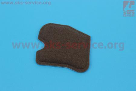 Фильтр воздушный для бензопил Husgvarna 235/235e/236/236e/240/240e (войлок, коричневый)