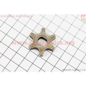 Звезда цепи 3/8-6 (D=30мм, d=8/10мм, H=6mm) для электропил