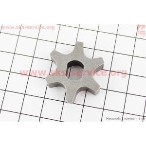 Звезда цепи 3/8-6 (D=30мм, d=8/10мм, H=9,5mm) для электропил