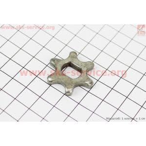 Звезда цепи 3/8-6 (D=30мм, d=9/12мм, H=5mm) для электропил
