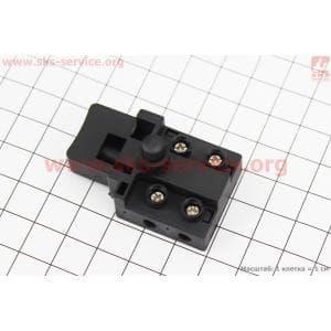 Кнопка-выключатель с фиксатором Тип №3 для электропил