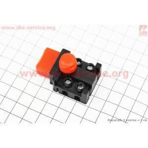 Кнопка-выключатель с фиксатором Тип №6 для электропил