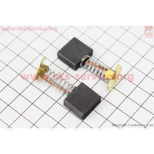 Щетки с пружиной 7х17мм к-кт 2шт Тип №1 для электропил