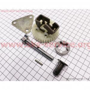 Насос масляный в сборе к-кт 6шт 178F/186F для дизельного двигателя F178/ F186 - 6/9 л.с.