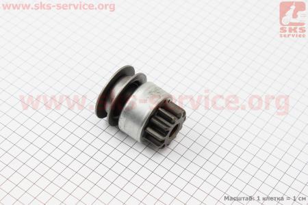 Бендикс стартера QD1332 Z=11/12 KM385BT на дизельный двигатель KM385BT