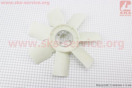 Крыльчатка вентилятор DongFeng 244 (LL380-063000) на дизельный двигатель KM385BT