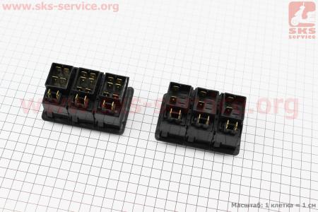 Блок переключателей к-кт DongFeng 240/244 к минитракторам DongFeng 240-404