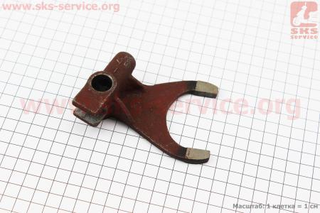 Вилка повышенной/пониженной передачи КПП DongFeng 244/240 (200.37.211) к минитракторам DongFeng 240-404