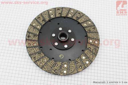 Диск сцепления основной DongFeng 354/404 (300.21C.013) к минитракторам DongFeng 240-404