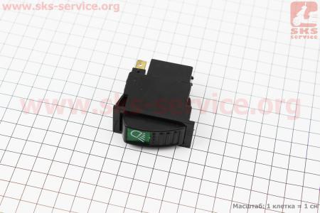 Кнопка включения задней фары к минитракторам DongFeng 240-404