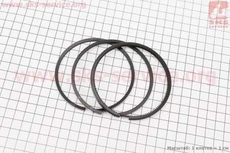 Кольца поршневые к-кт на 1 поршень 85мм (KM485QB-04001,04002,04100)  к минитракторам DongFeng 240-404