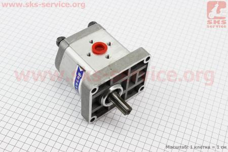 Насос шестеренчатый - 314 левый, боковой выход, шлиц DongFeng 354 (CBN-E314L)  к минитракторам DongFeng 240-404