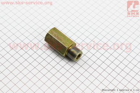 Переходник впускного маслопровода DongFeng 354/404 (304.40A.102) к минитракторам DongFeng 240-404