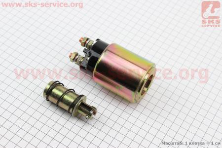 Втягивающее стартера DК1332 2,5kW KM385BT к минитракторам Foton 240-404, Jinma 244264, ДТЗ