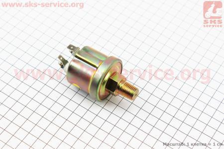 Датчик давления масла 2-х контактный Foton 244-504, Jinma 244-404 к минитракторам Foton 240-404, Jinma 244264, ДТЗ