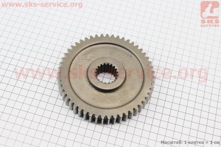 Шестерня вала отбора мощности Z=51/19 DongFeng 354/404 (300.37.149-1) к минитракторам DongFeng 240-404