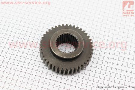 Шестерня ведомая вала отбора мощности 540/730 Z=41/28 DongFeng 244/240 (300.41B.117A) к минитракторам DongFeng 240-404