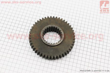 Шестерня постоянного зацепления промежуточного вала КПП Z=24/47 DongFeng 354/404 (300.37.146-1) к минитракторам DongFeng 240-404