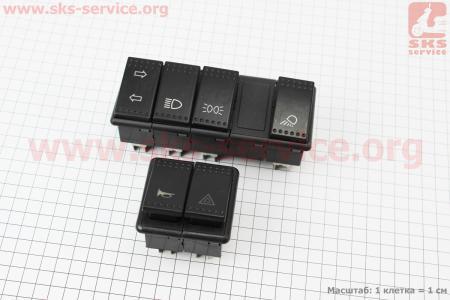 Блок переключателей к-кт Jinma 244B/C на минитрактор Jinma