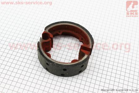Тормозные колодки к-кт 2шт Jinma (160.43.012-1)  на минитрактор Jinma