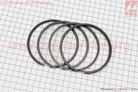 Кольца поршневые к-кт на 1 поршень D=90мм (42.04.200А) на дизельный двигатель DL190-12