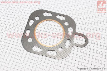 Прокладка головки блока цилиндра (12A.01.102) на дизельный двигатель DL190-12