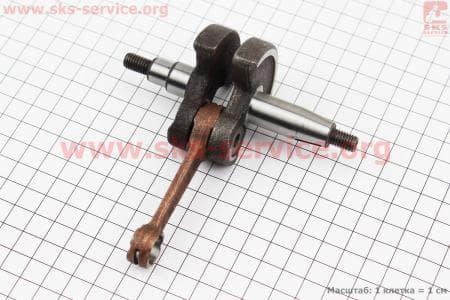 Коленвал 1E40F + 2шт подшипника TATA для мотокосы