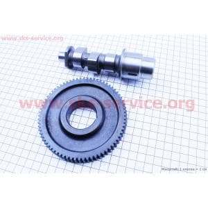 Распредвал + шестерня 178F для дизельного двигателя F178/ F186 - 6/9 л.с.
