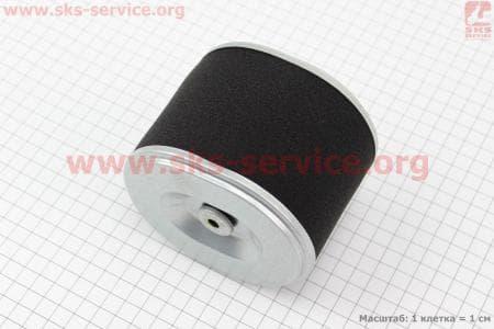 Фильтр воздушный - элемент (бумажный 95х115х100мм) для дизельного двигателя F178/ F186 - 6/9 л.с.