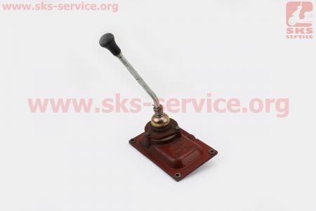 Рычаг переключения передач с крышкой корпуса в сборе Xingtai 120/220 к минитракторам Xingtai 120-224