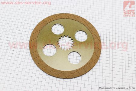 Тормозной диск Foton 354/404 (FT300.43.011)  к минитракторам Foton 240-404, Jinma 244/264, ДТЗ