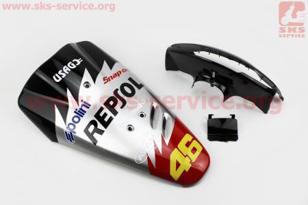 Honda DIO AF-27 пластик - к-кт крашеные 5 деталей, TUNING на ЯПОНСКУЮ мототехнику