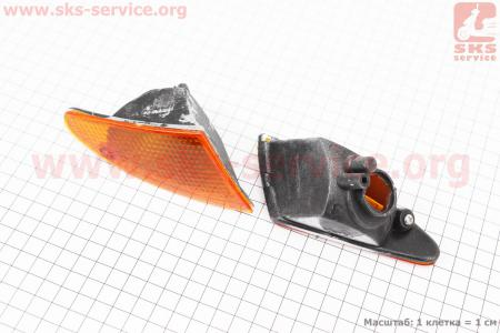 Suzuki LETS-II повороты передние к-кт 2шт  на ЯПОНСКУЮ мототехнику