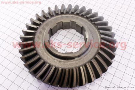 Шестерня полуоси вторичного вала Z=36 Тип №2 для мотоблока с двигателем 178F-186F