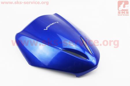 """пластик - передний верхний """"клюв"""", СИНИЙ  для китайских скутеров LEGEND (Viper)"""