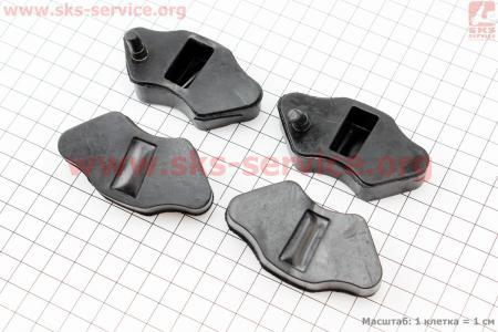 Демпферная резинка заднего спицованного колеса (к-кт 4шт) для мопеда Delta (Viper)