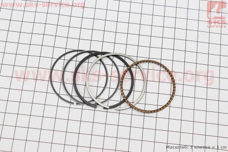 Кольца поршневые 70сс 47мм +0,75 для мопеда Delta (Viper)