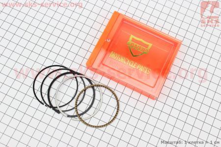 Кольца поршневые 110сс 52,4мм STD для мопеда Delta (Viper)