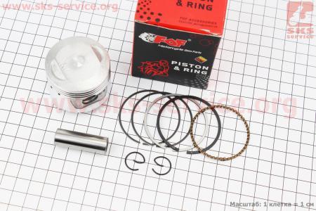 Поршень, палец, кольца к-кт 70сс 47мм STD (палец 13мм) для мопеда Delta (Viper)