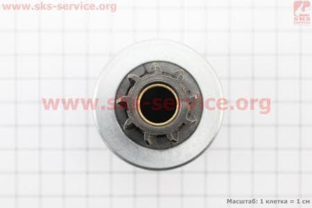 Бендикс электростартера Z=9, Lзуба=19,50мм R175A/R180NM З/ч на двигатель дизельный R-175N/180N/ - 7/9 л.с.