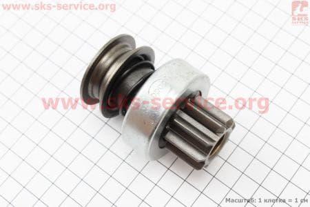 Бендикс электростартера Z=9, Lзуба=20,50мм R175A/R180NM З/ч на двигатель дизельный R-175N/180N/ - 7/9 л.с.