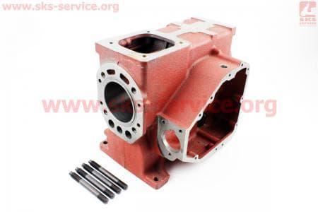Блок двигателя R180NM (короткий) (+гильза+шпильки 4шт) З/ч на двигатель дизельный R-175N/180N/ - 7/9 л.с.