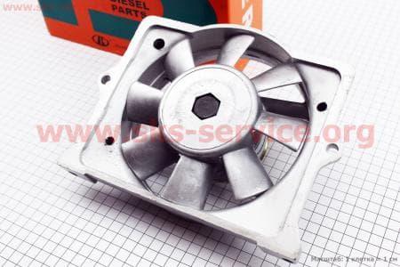 Вентилятор в сборе R175A/R180NM (без статора) З/ч на двигатель дизельный R-175N/180N/ - 7/9 л.с.