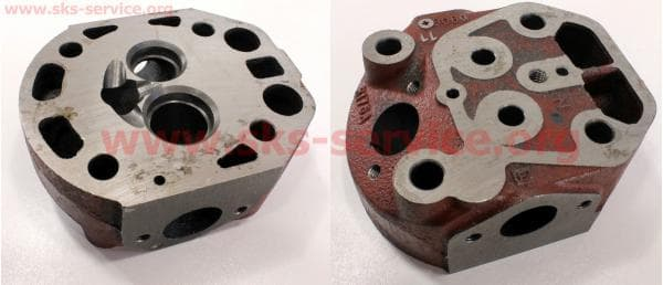 Головка цилиндра R175A пустая (без форкамеры) З/ч на двигатель дизельный R-175N/180N/ - 7/9 л.с.