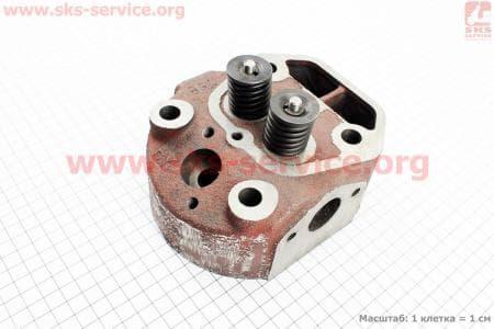 Головка цилиндра R175A в сборе (с форкамерой) З/ч на двигатель дизельный R-175N/180N/ - 7/9 л.с.