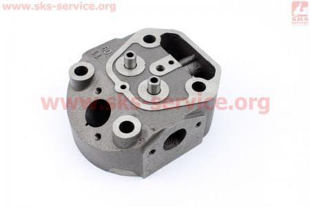Головка цилиндра R180NM пустая (без форкамерой) З/ч на двигатель дизельный R-175N/180N/ - 7/9 л.с..