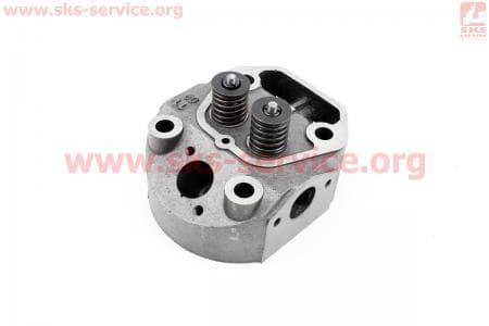 Головка цилиндра R180NM в сборе (без форкамеры) З/ч на двигатель дизельный R-175N/180N/ - 7/9 л.с.
